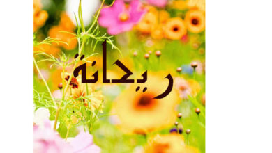 Photo of معنى اسم ريحانة و هل هي زوجة الرسول صلى الله عليه وسلم