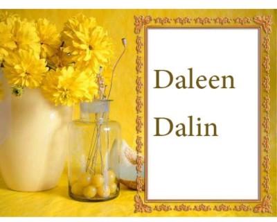 دالين بالانجليزية
