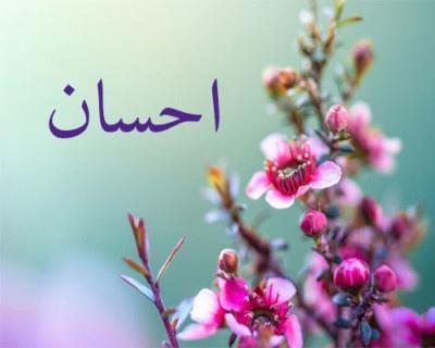معنى اسم احسان