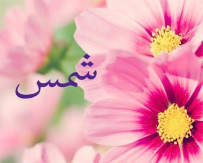 معنى اسم شمس بالعربي