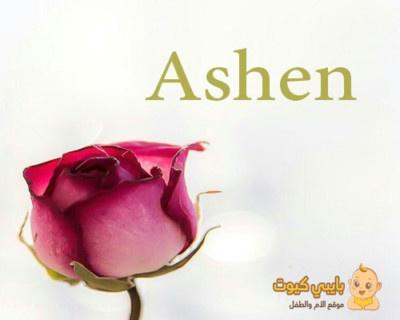 اسم آشين التركي