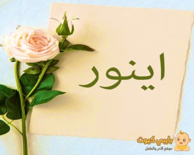 معنى اسم اينور بالعربي