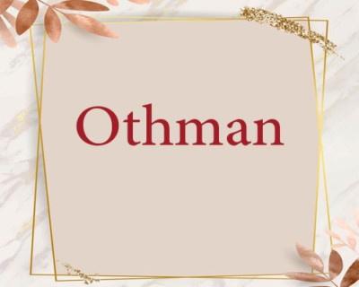 كتابة اسم عثمان بالاحرف الانجليزية