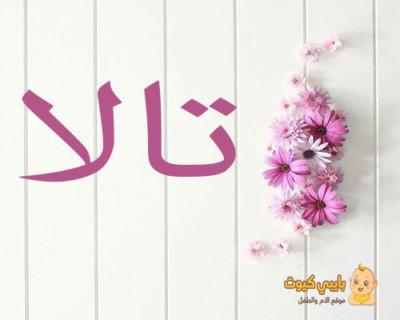 اسم تالا بالعربي